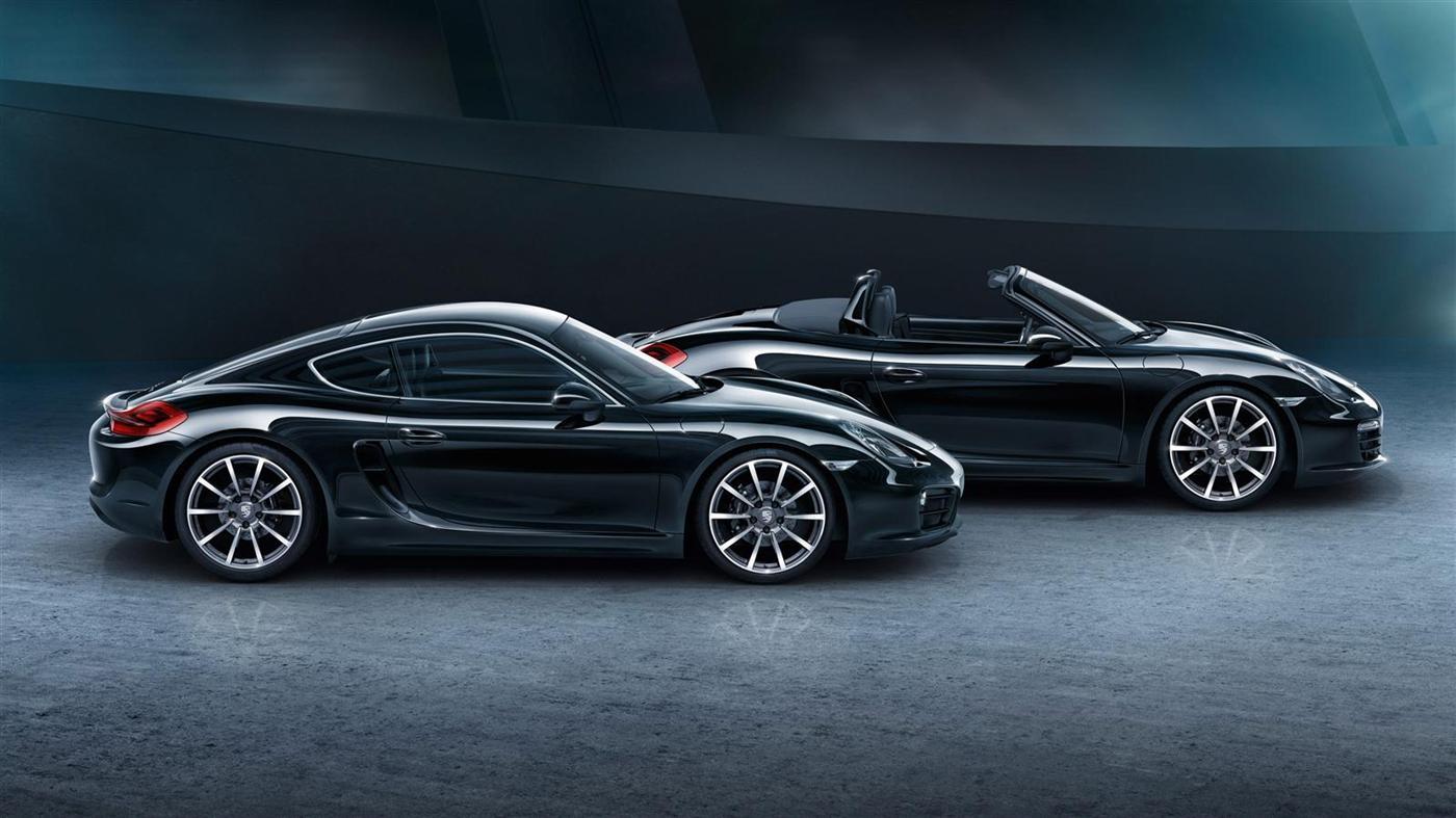The New Porsche Cayman Black Edition 6