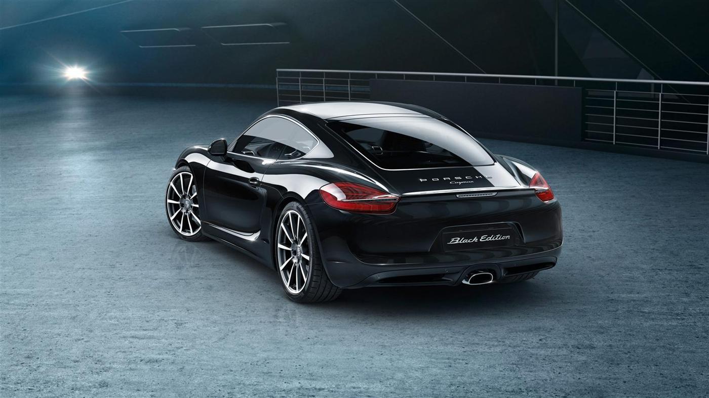The New Porsche Cayman Black Edition 5