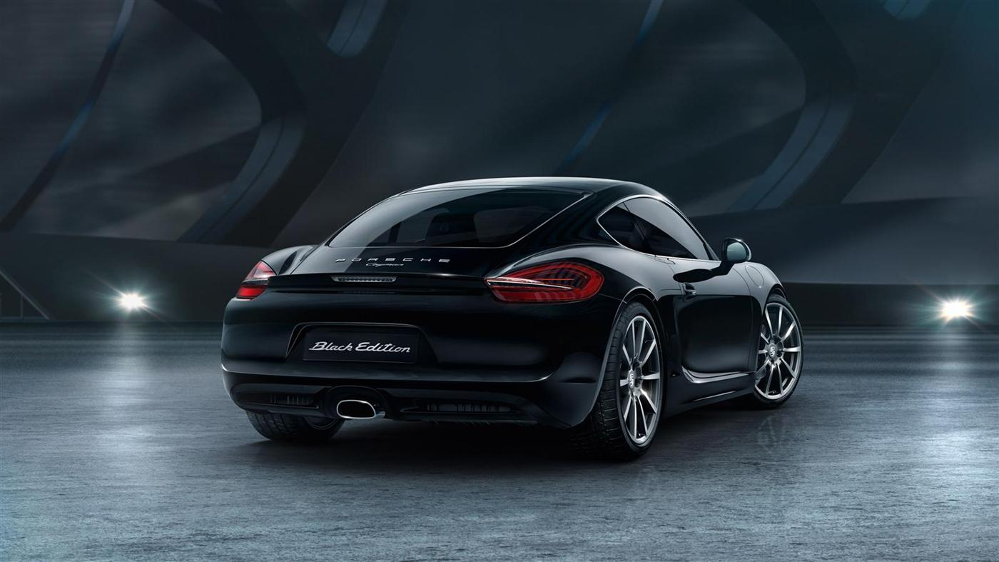 The New Porsche Cayman Black Edition 4