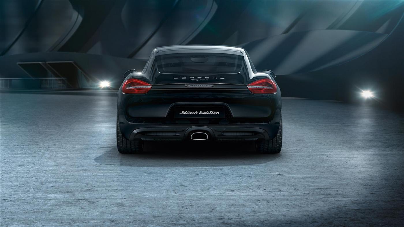 The New Porsche Cayman Black Edition 3