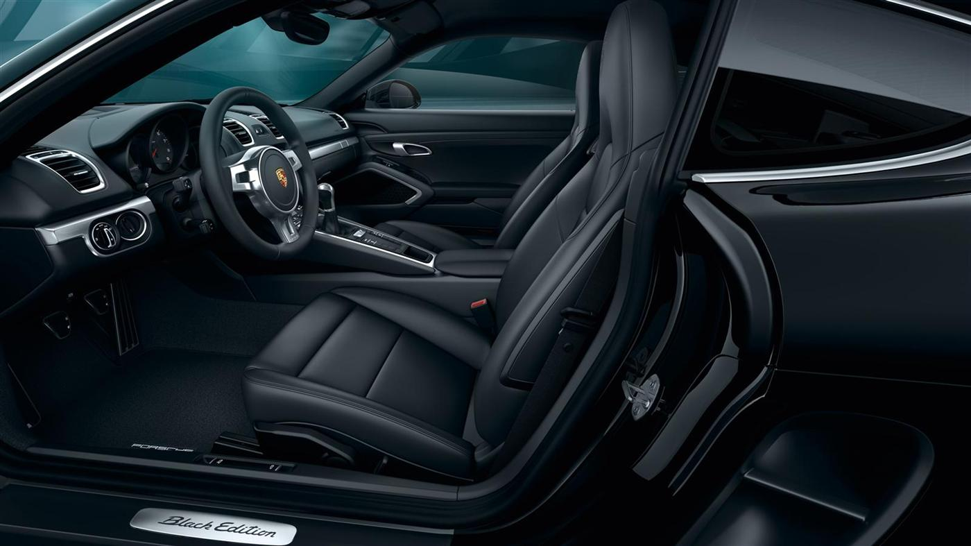 The New Porsche Cayman Black Edition 8