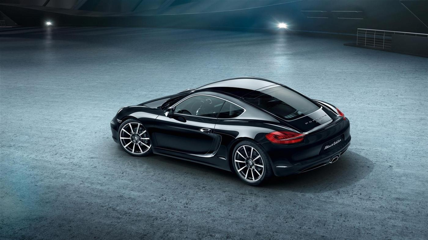 The New Porsche Cayman Black Edition 2