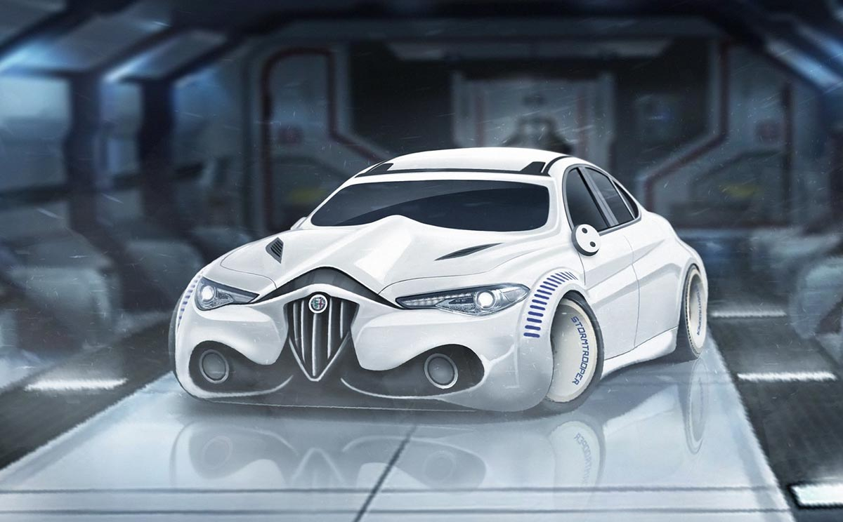 If Supercars Were Star Wars Characters 1