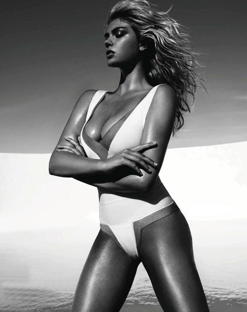 Kate Upton poses for Vogue Spain 3