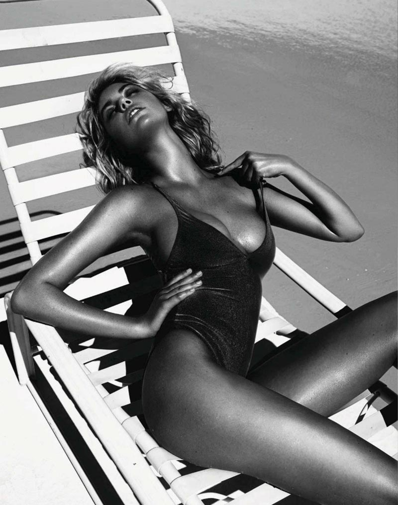 Kate Upton poses for Vogue Spain 6