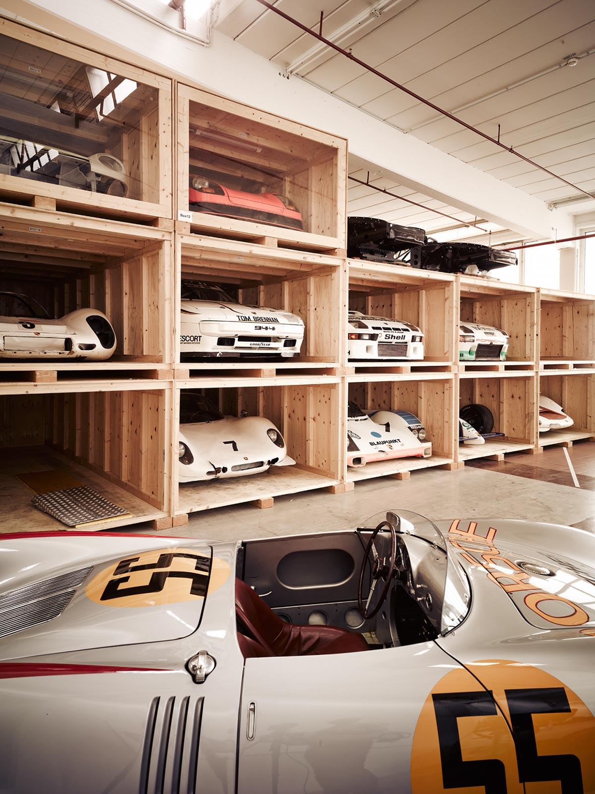 A Look Inside Porsche's Secret Stuttgart Warehouse 3