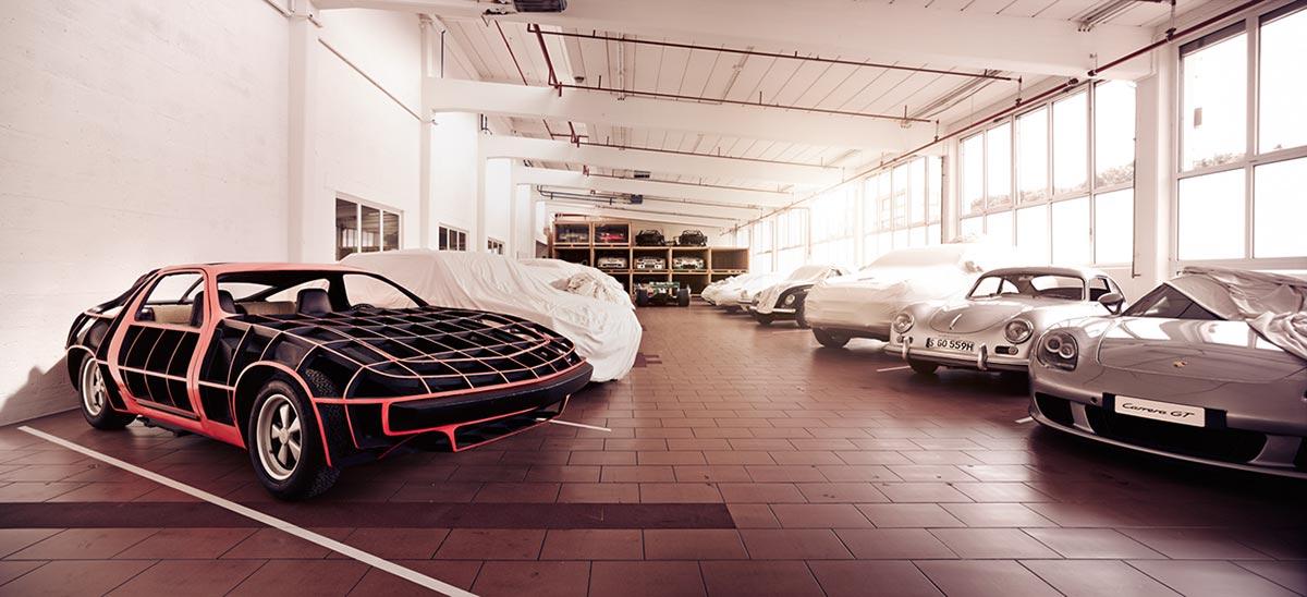 A Look Inside Porsche's Secret Stuttgart Warehouse 6