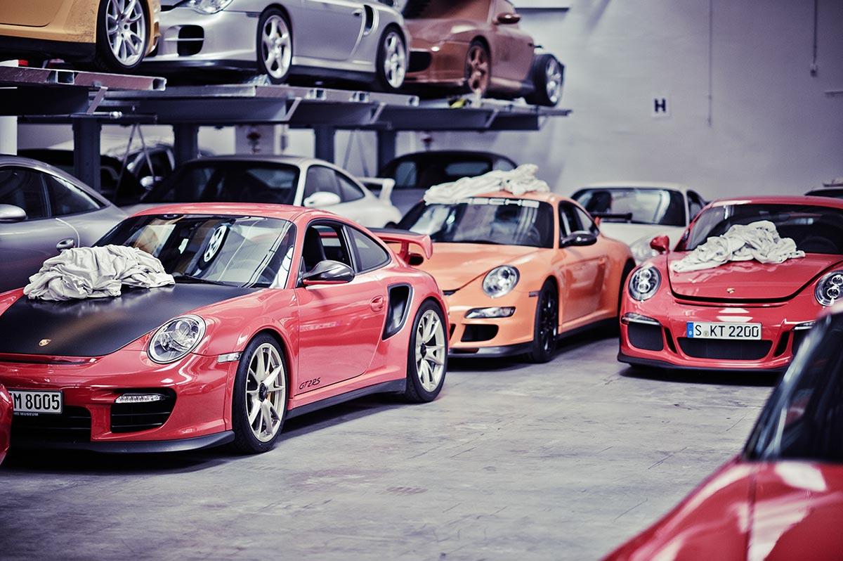 A Look Inside Porsche's Secret Stuttgart Warehouse 8