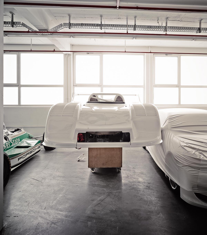 A Look Inside Porsche's Secret Stuttgart Warehouse 9