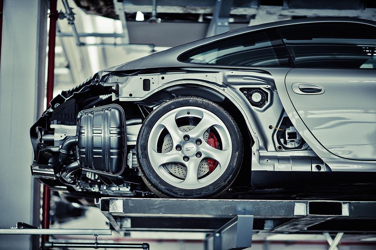 A Look Inside Porsche's Secret Stuttgart Warehouse 10