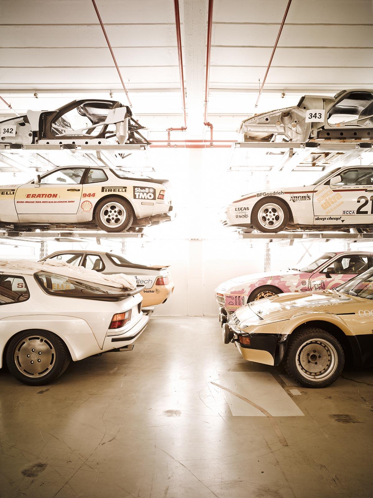 A Look Inside Porsche's Secret Stuttgart Warehouse 12