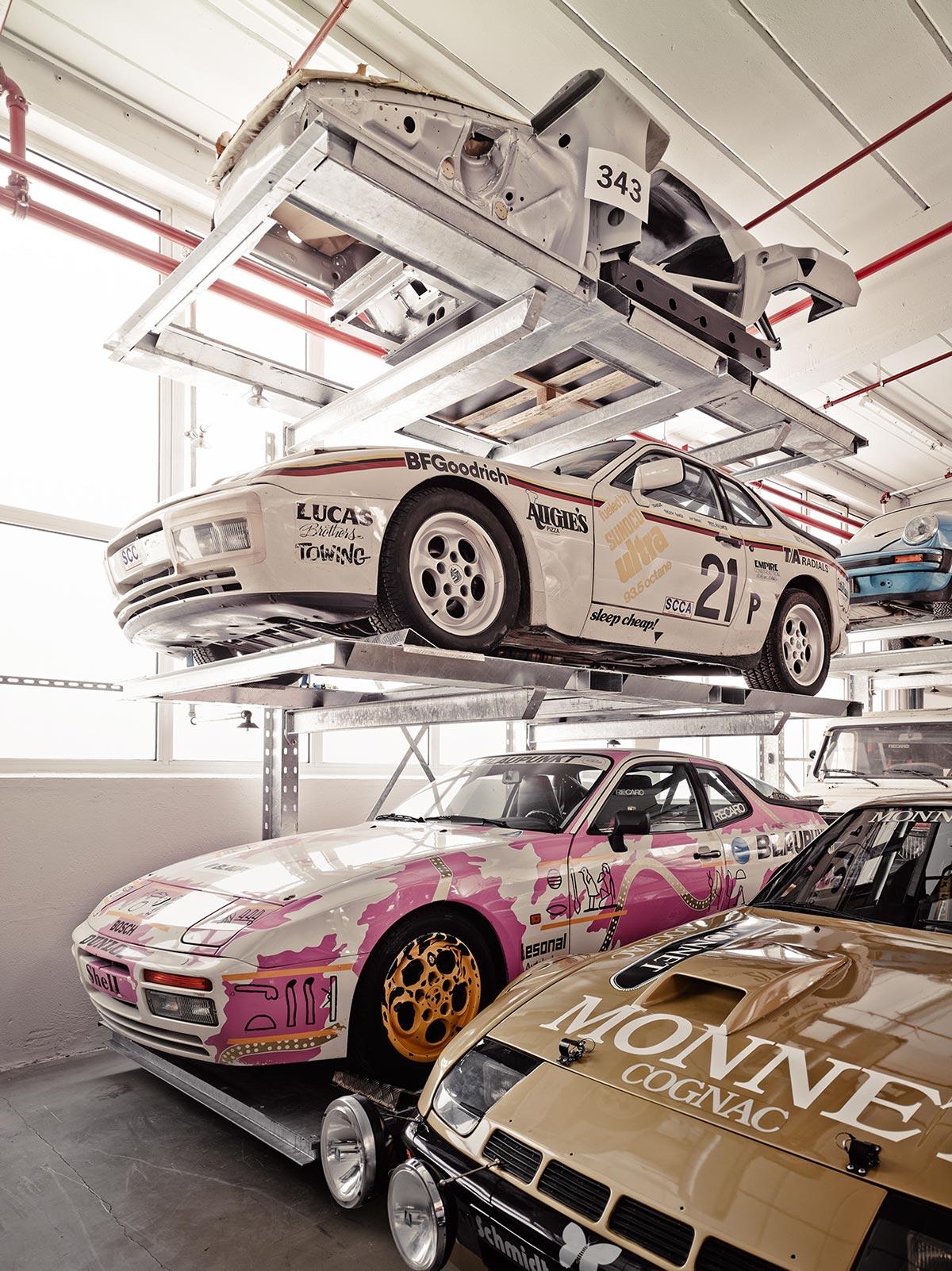 A Look Inside Porsche's Secret Stuttgart Warehouse 13