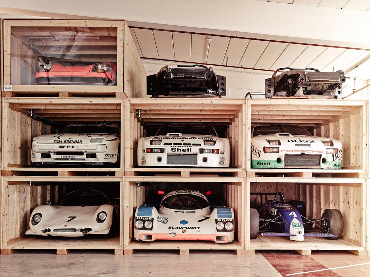 A Look Inside Porsche's Secret Stuttgart Warehouse 1