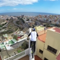 Danny MacAskill Jumps Across Spanish Rooftops