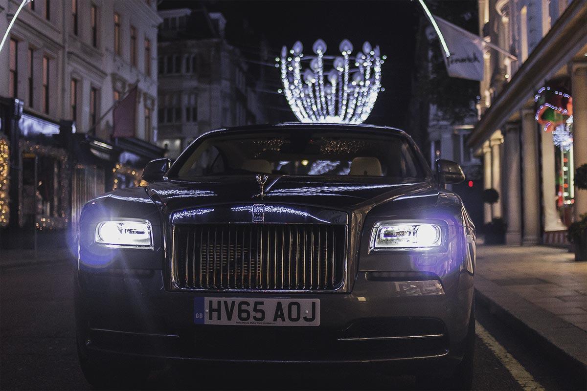 The Formidable Rolls Royce Wraith 1