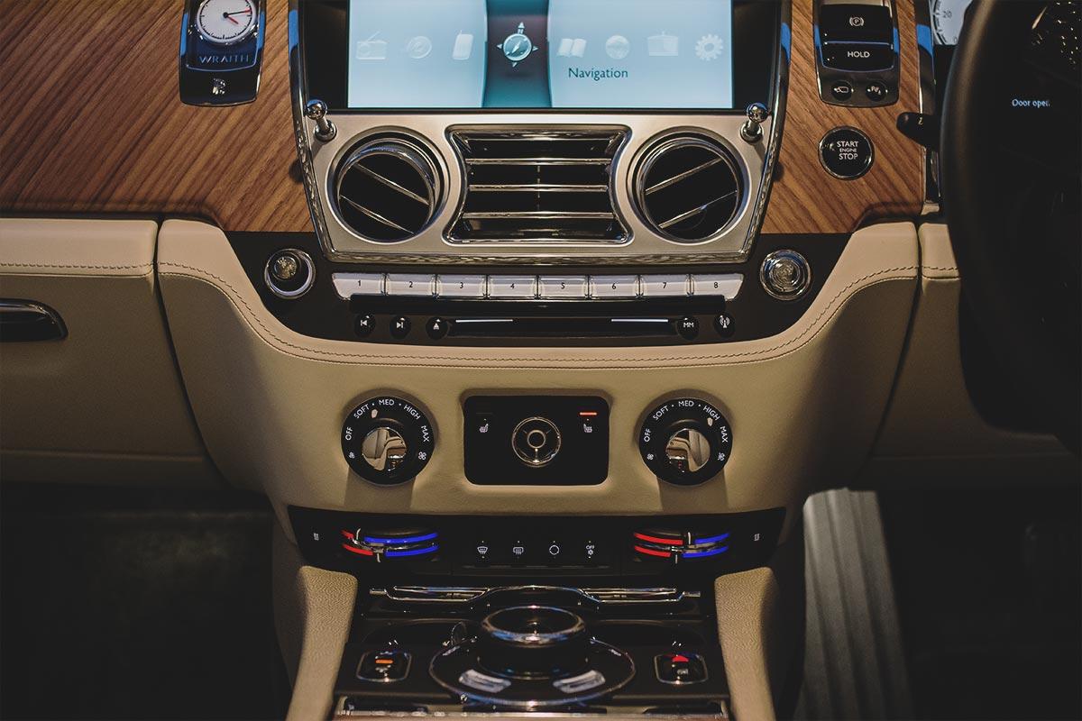 The Formidable Rolls Royce Wraith 9