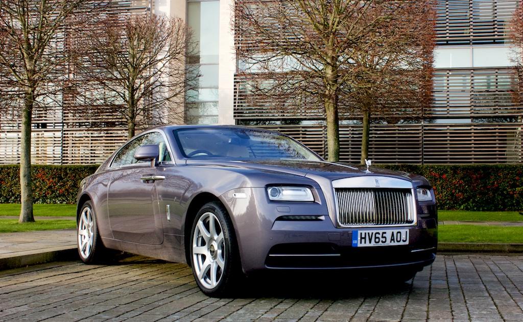 The Formidable Rolls Royce Wraith 8