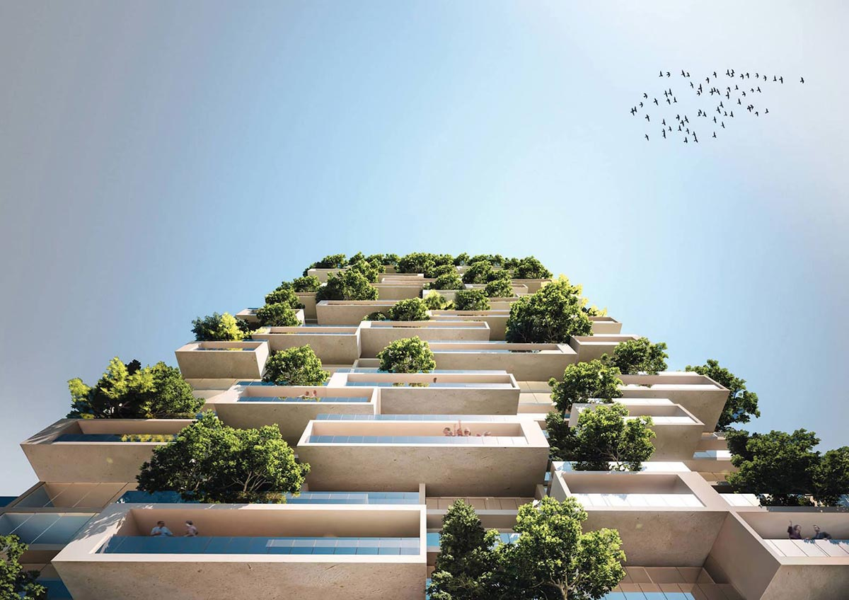 Milan's Bosco Verticale Coming to Lausanne 2