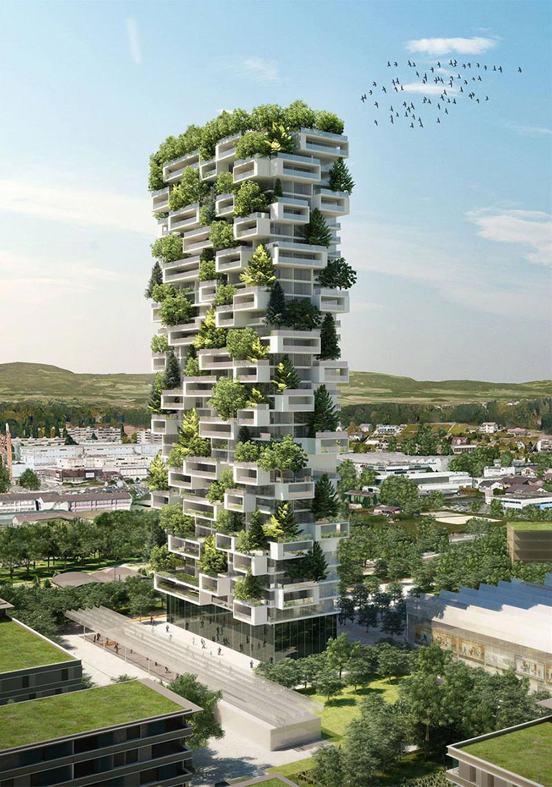 Milan's Bosco Verticale Coming to Lausanne 3