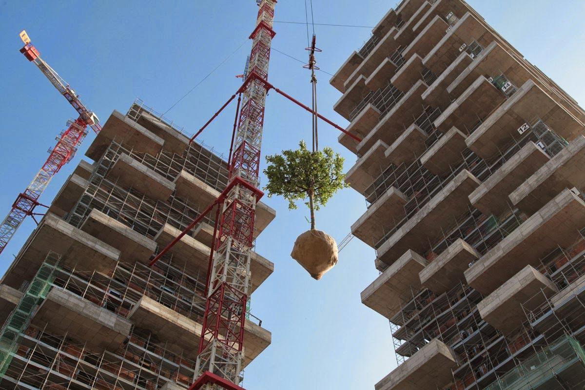 mailand 39 s bosco verticale x vertical forest by stefano boeri. Black Bedroom Furniture Sets. Home Design Ideas