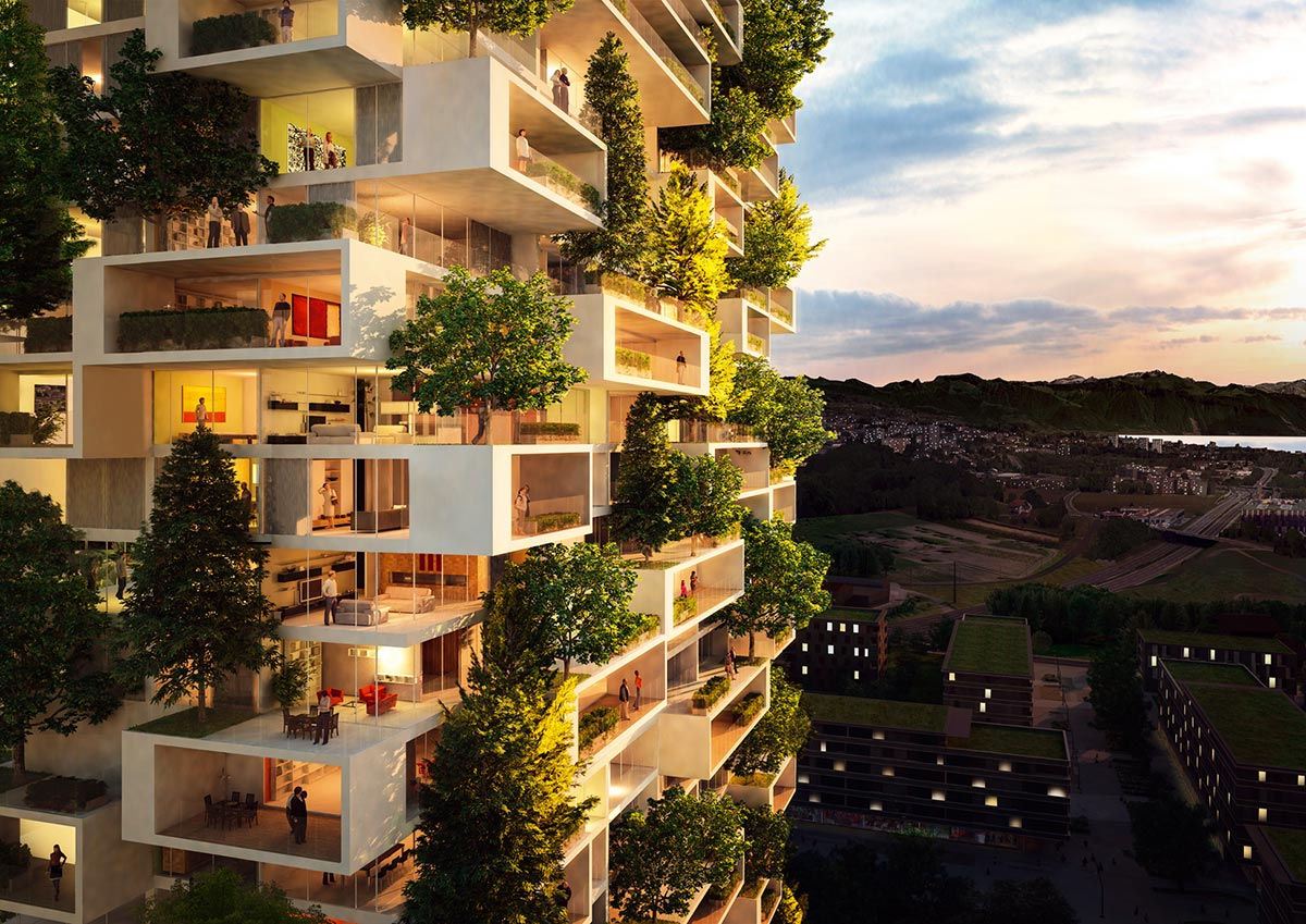 Milan's Bosco Verticale Coming to Lausanne 1
