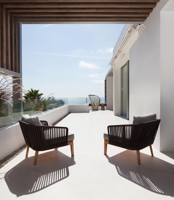 Ocean view home in ibiza by saota arrcc mr goodlife - Residence de standing saota roca llisa ...