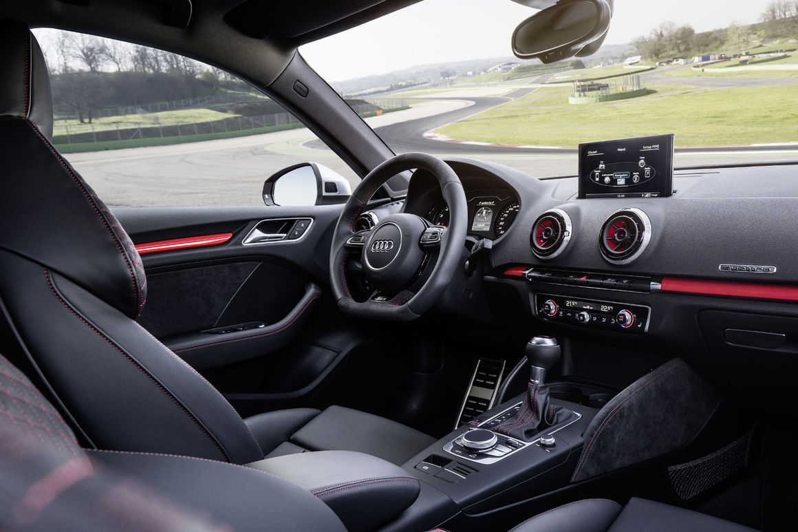 Hatchback Hottie: Driving the Audi RS3 2