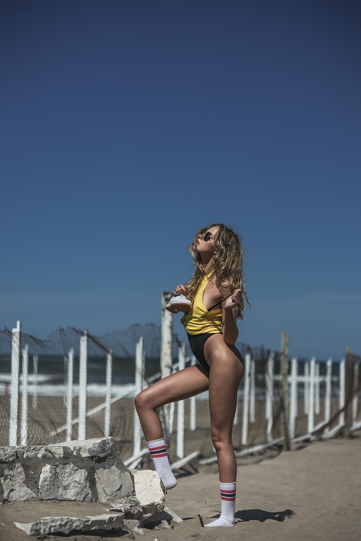 Strandatmosphäre mit Kryss Wood und Alejandro Bauducco 5