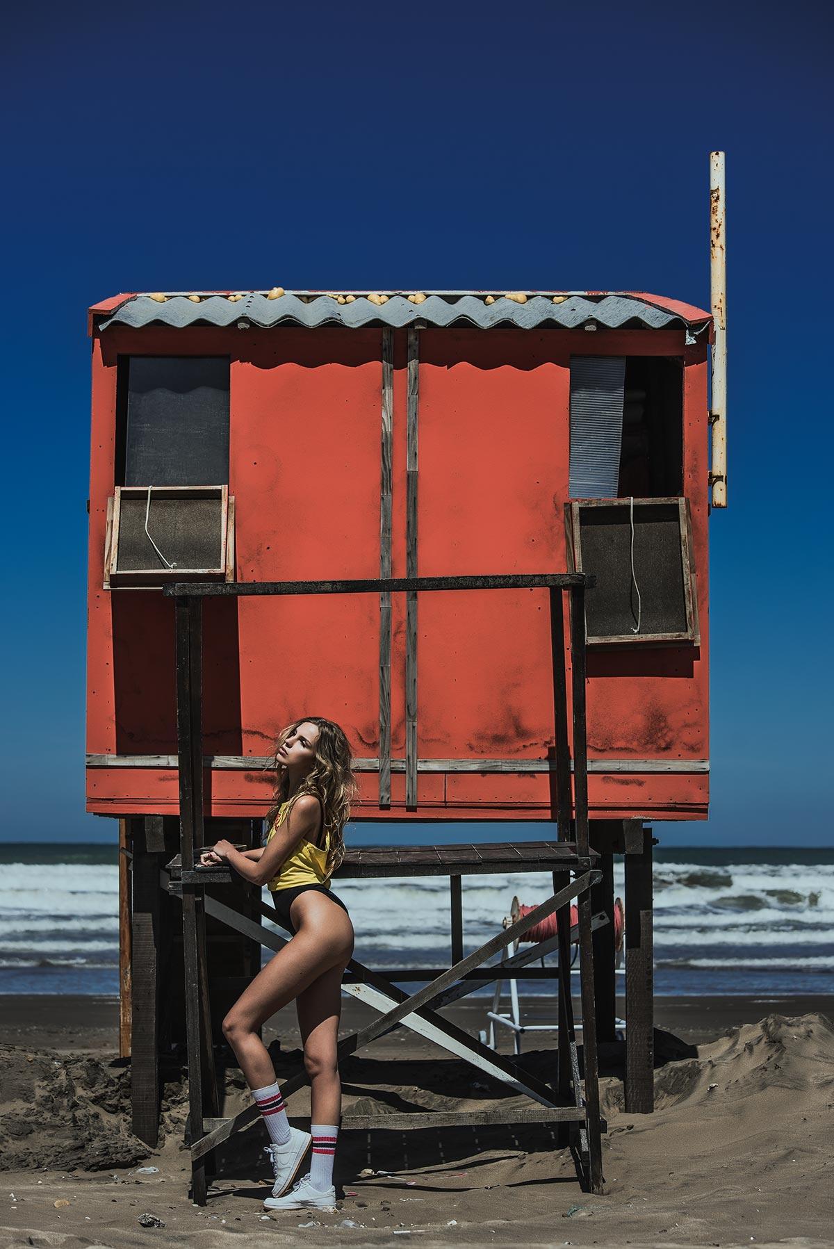 Strandatmosphäre mit Kryss Wood und Alejandro Bauducco 11