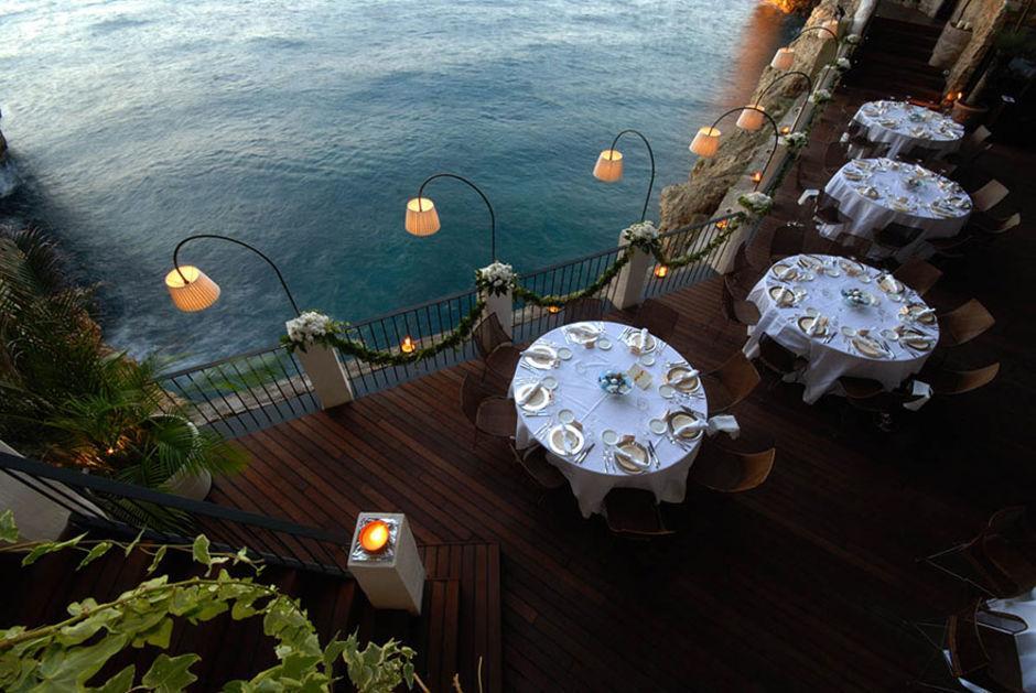 Das Höhlen-Restaurant in Polignano a Mare 2