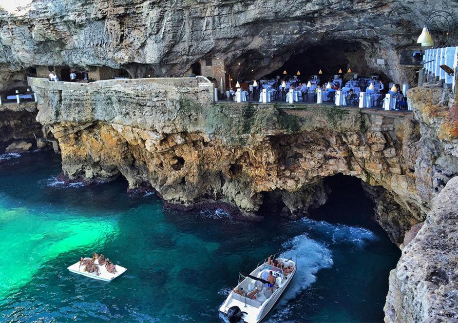 Das Höhlen-Restaurant in Polignano a Mare 3