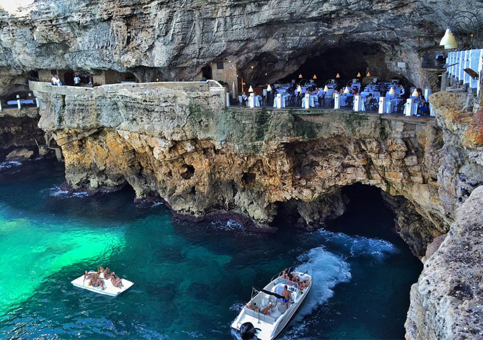 The Amazing Cave Restaurant in Polignano a Mare 3