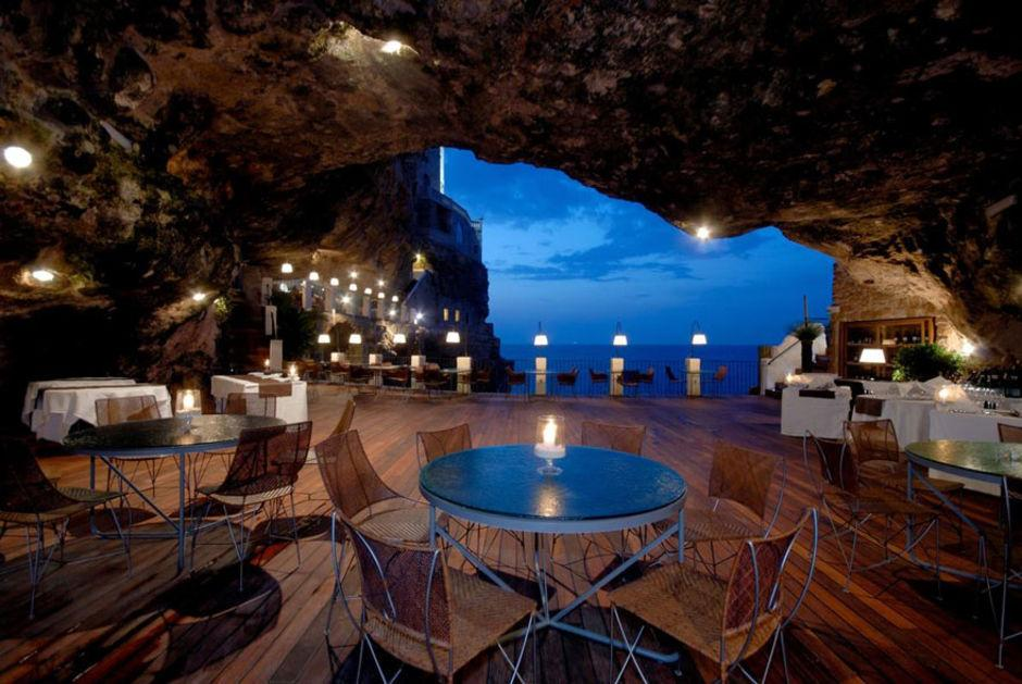 Das Höhlen-Restaurant in Polignano a Mare 5