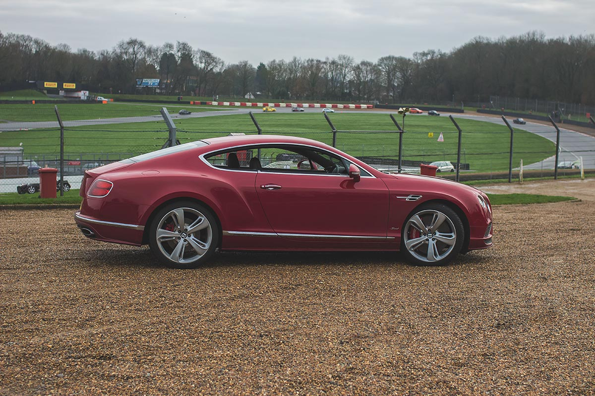 Grand Touring Excellence. The Bentley Continental GT Speed 3