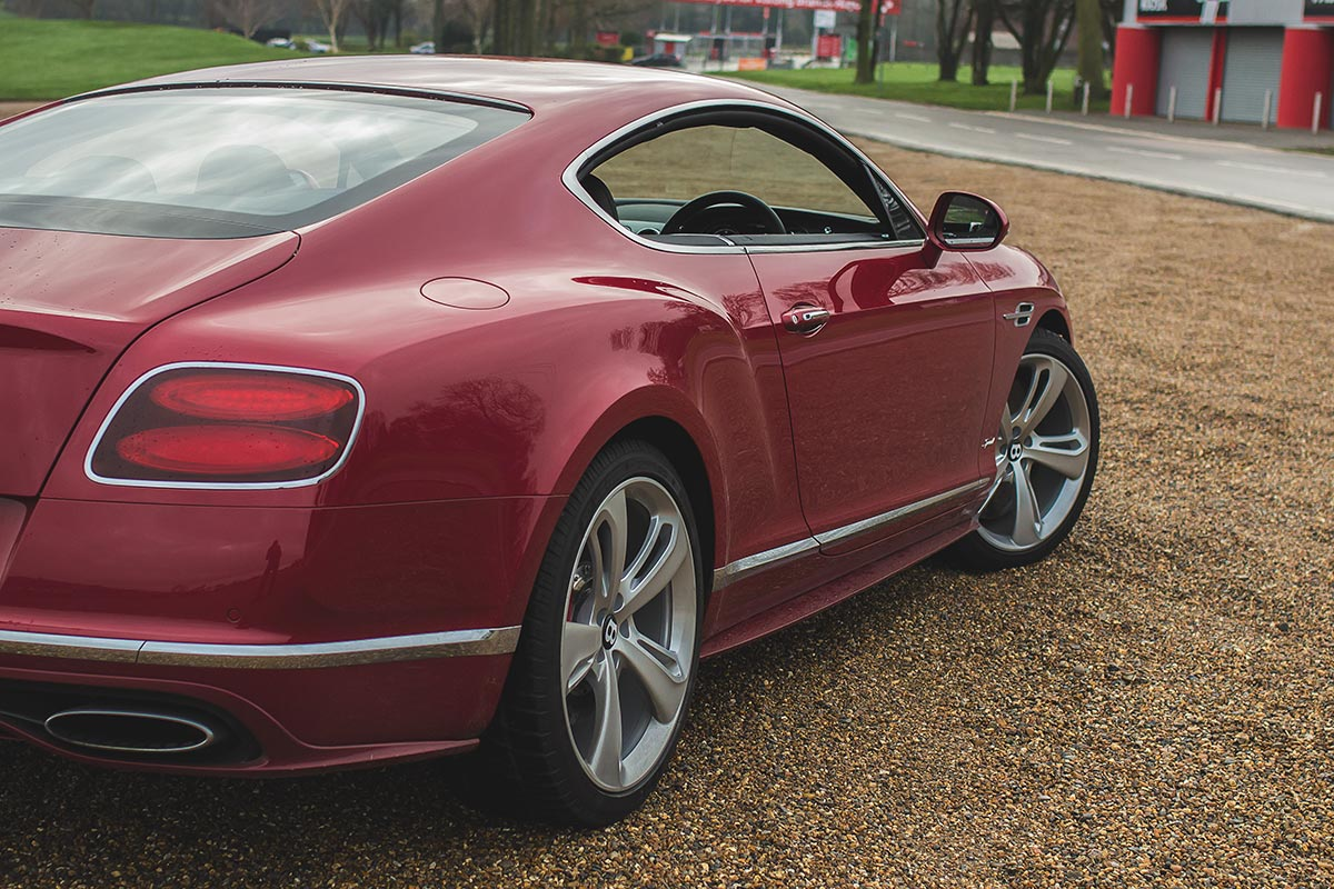 Grand Touring Excellence. The Bentley Continental GT Speed 5