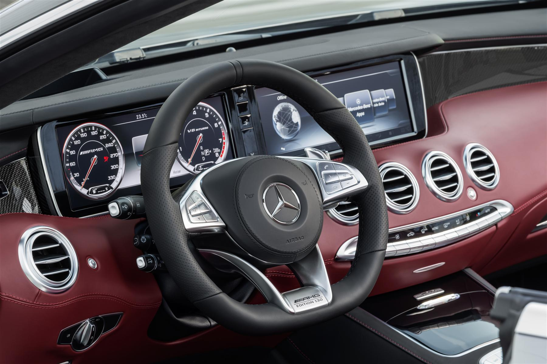 "Mercedes-AMG S 63 4MATIC Cabriolet ""Edition 130"" 4"