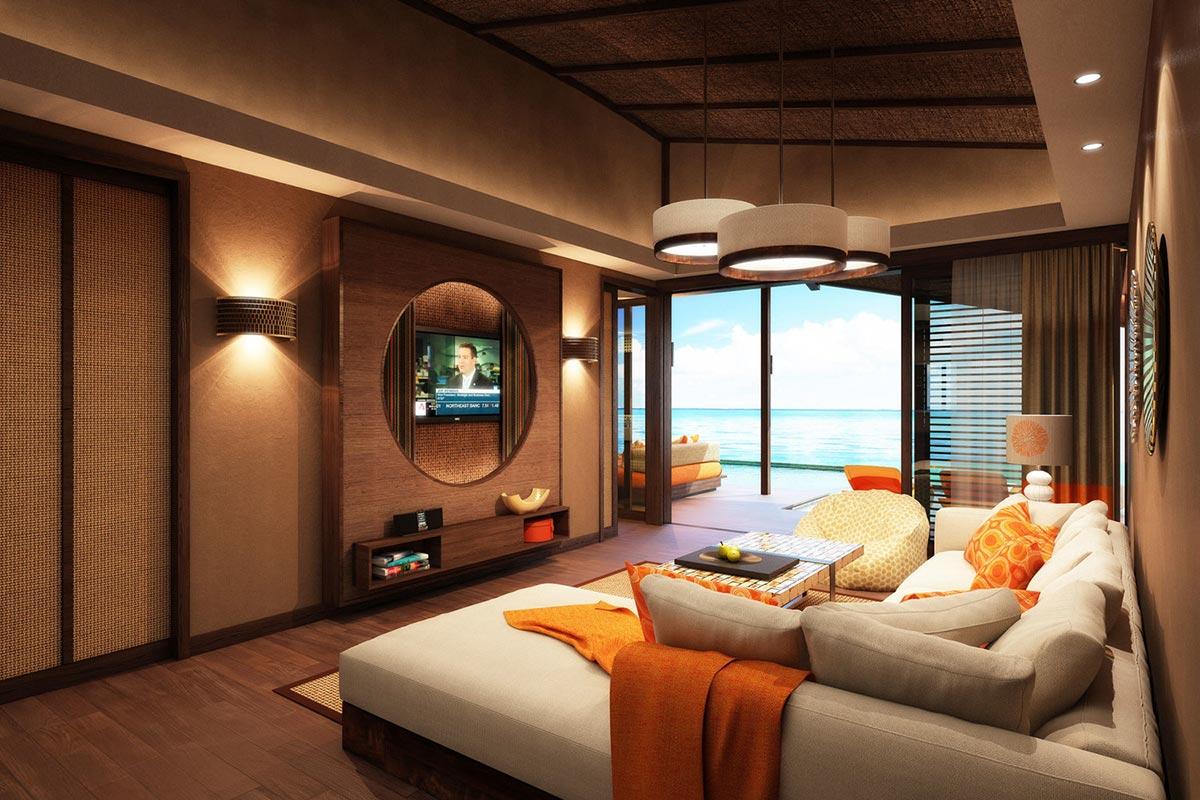 The World's First Entirely Solar Powered Resort x Villas de Finolhu 13