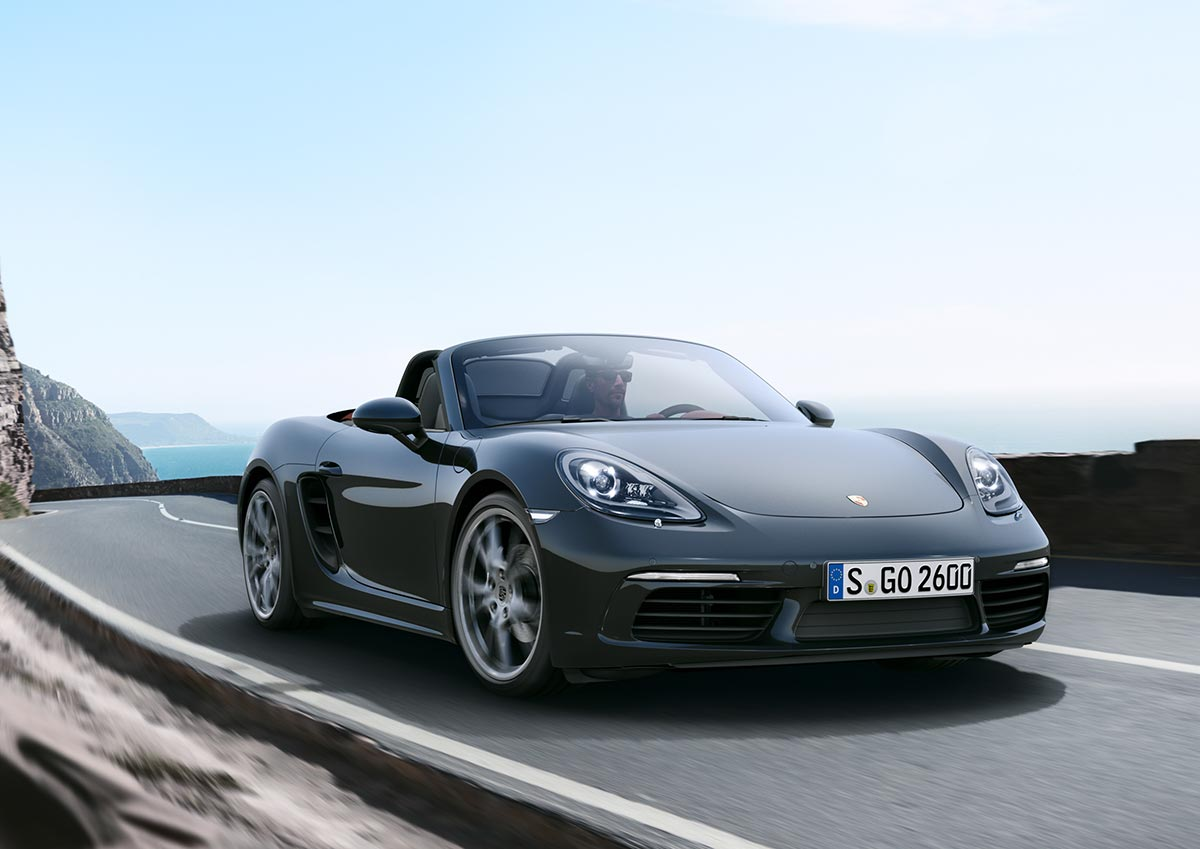 The new Porsche 718 Boxster & 718 Boxster S 2