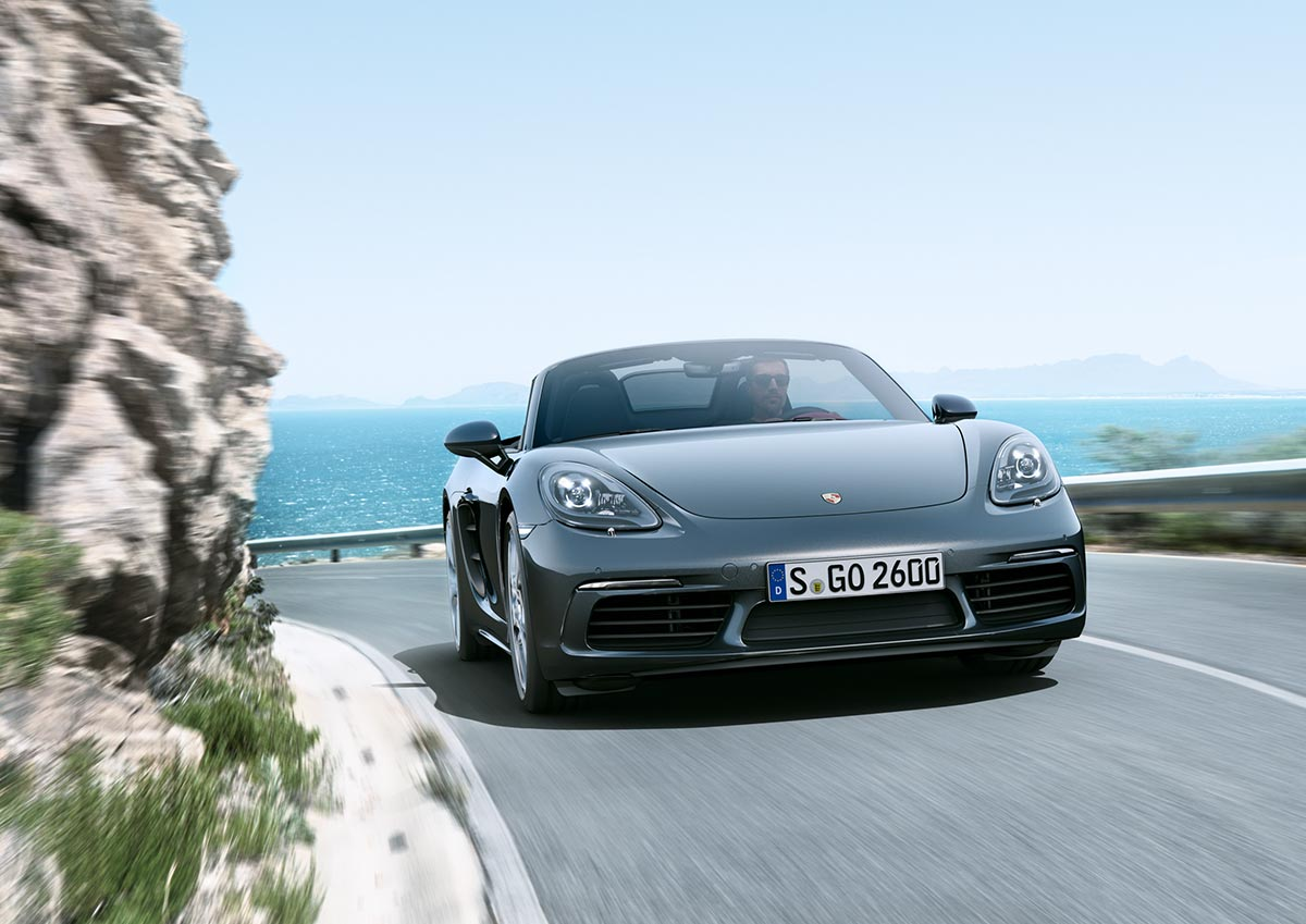 The new Porsche 718 Boxster & 718 Boxster S 3
