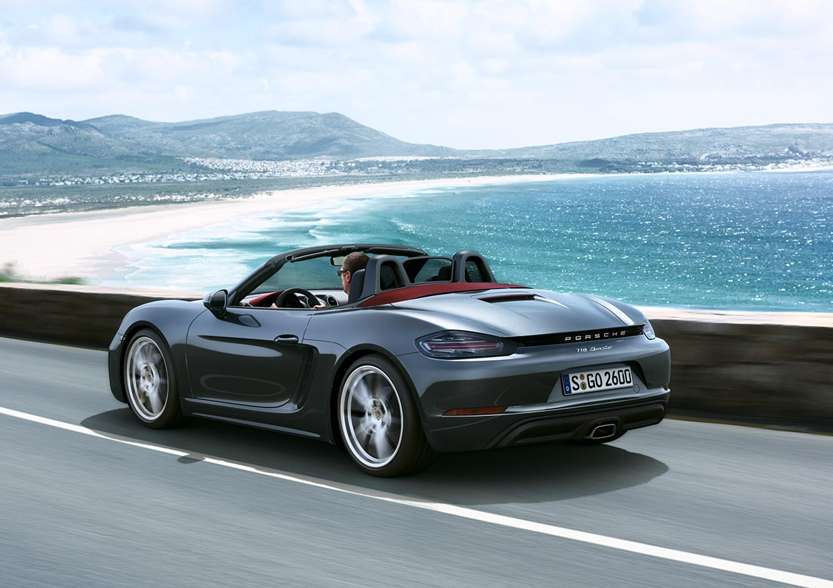 The new Porsche 718 Boxster & 718 Boxster S 4