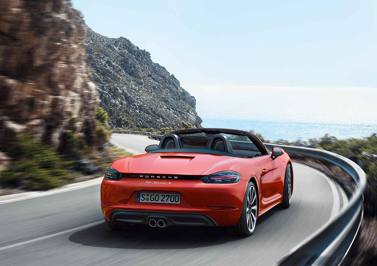 The new Porsche 718 Boxster & 718 Boxster S 5