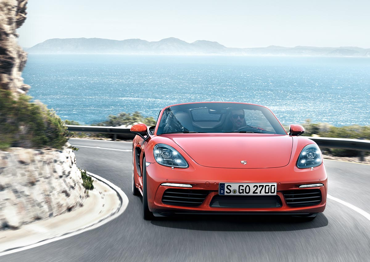 The new Porsche 718 Boxster & 718 Boxster S 6