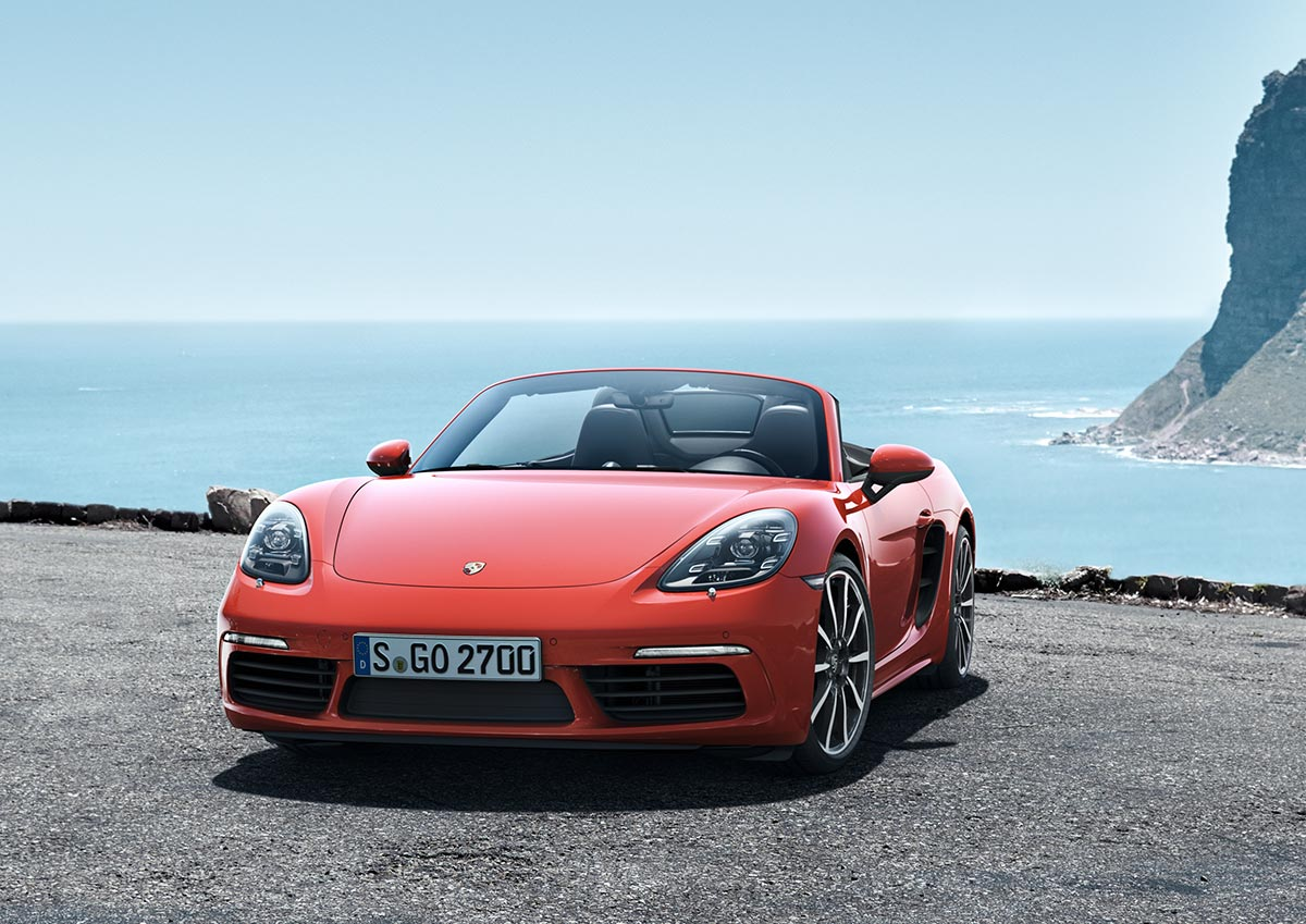 The new Porsche 718 Boxster & 718 Boxster S 7