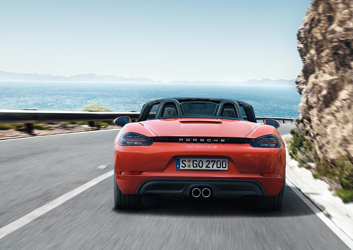 The new Porsche 718 Boxster & 718 Boxster S 8