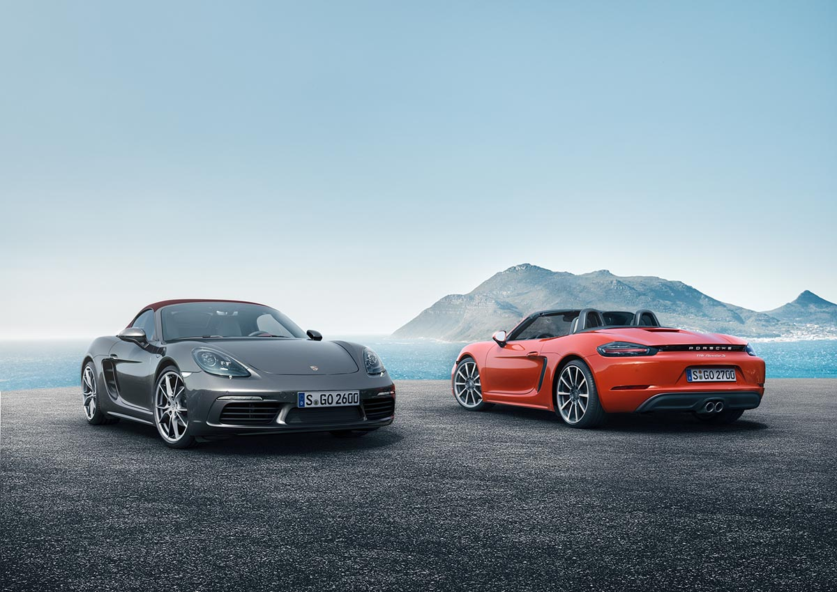 The new Porsche 718 Boxster & 718 Boxster S 1