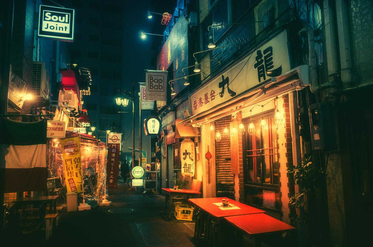 Tokyo bei Nacht von Masashi Wakui 2