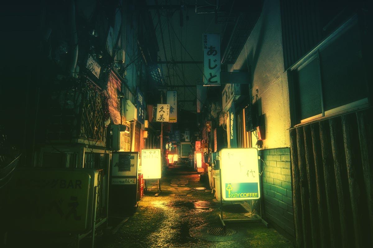 Tokyo bei Nacht von Masashi Wakui 3