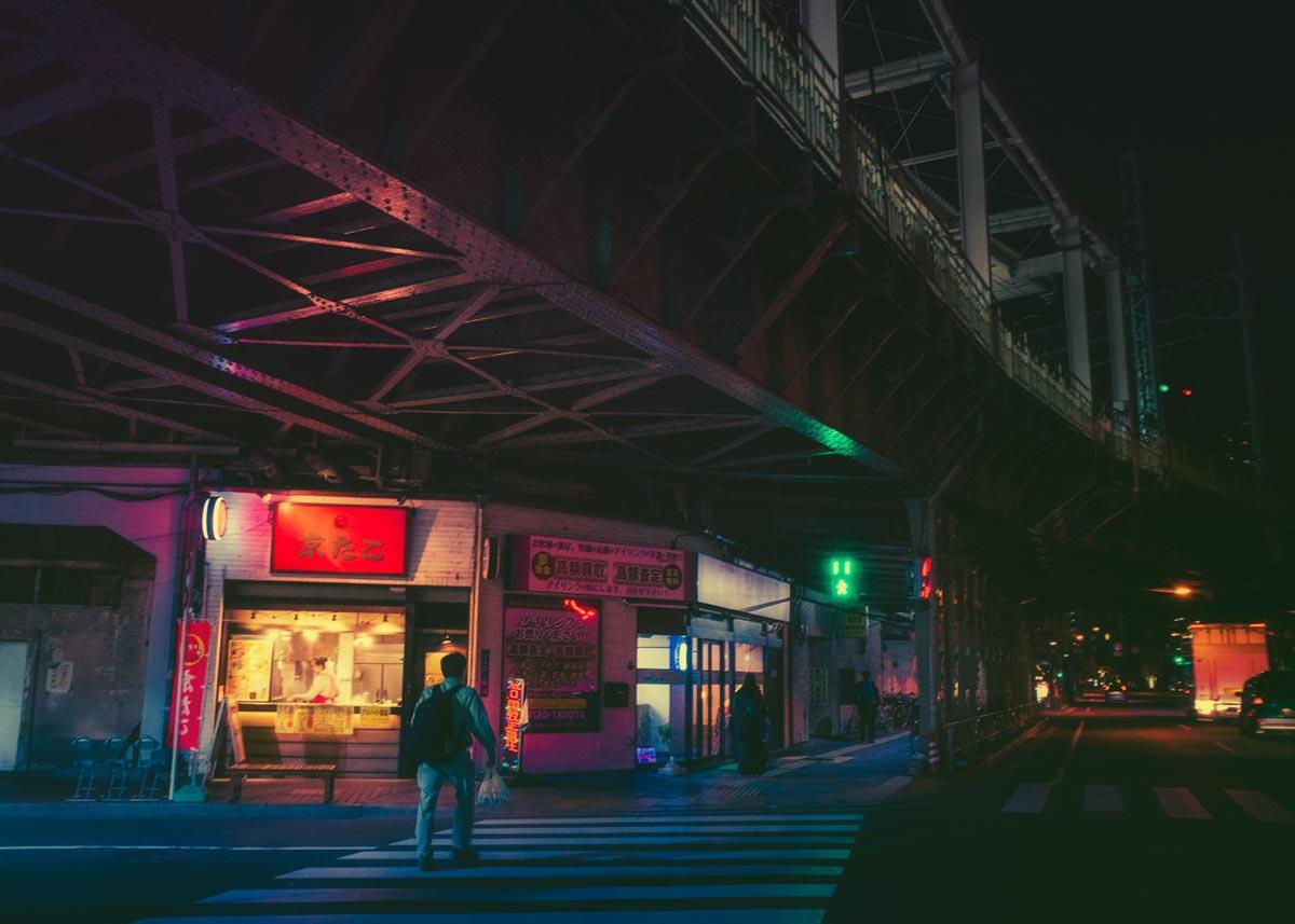 Tokyo bei Nacht von Masashi Wakui 6