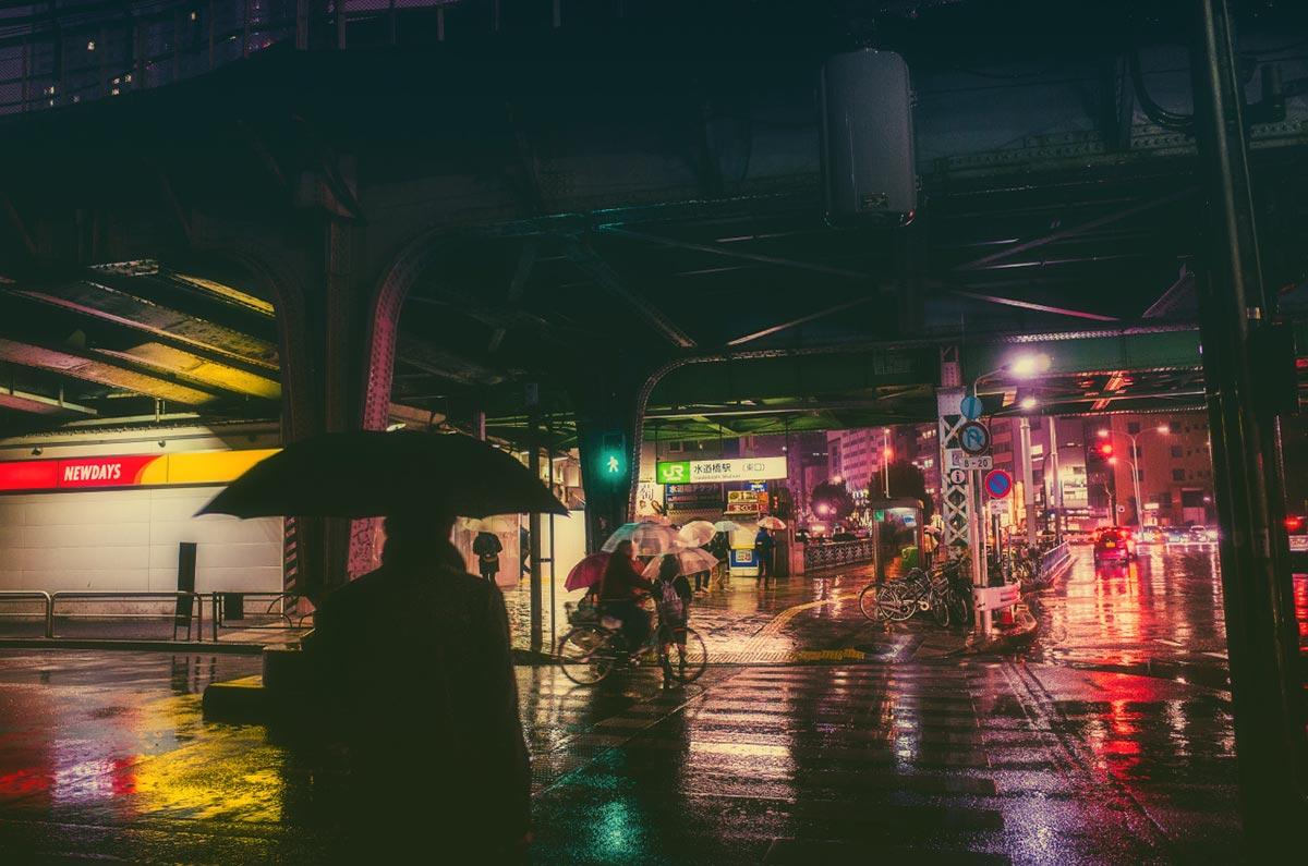 Tokyo bei Nacht von Masashi Wakui 7