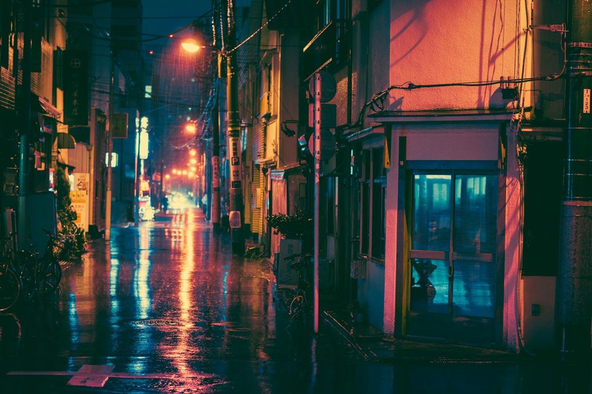 Tokyo bei Nacht von Masashi Wakui 8